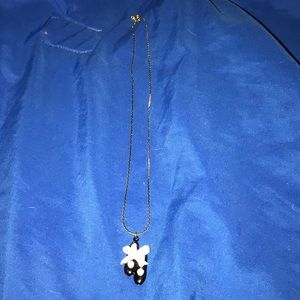 Jewelry - NWT, adorable Tap shoes pendant necklace!